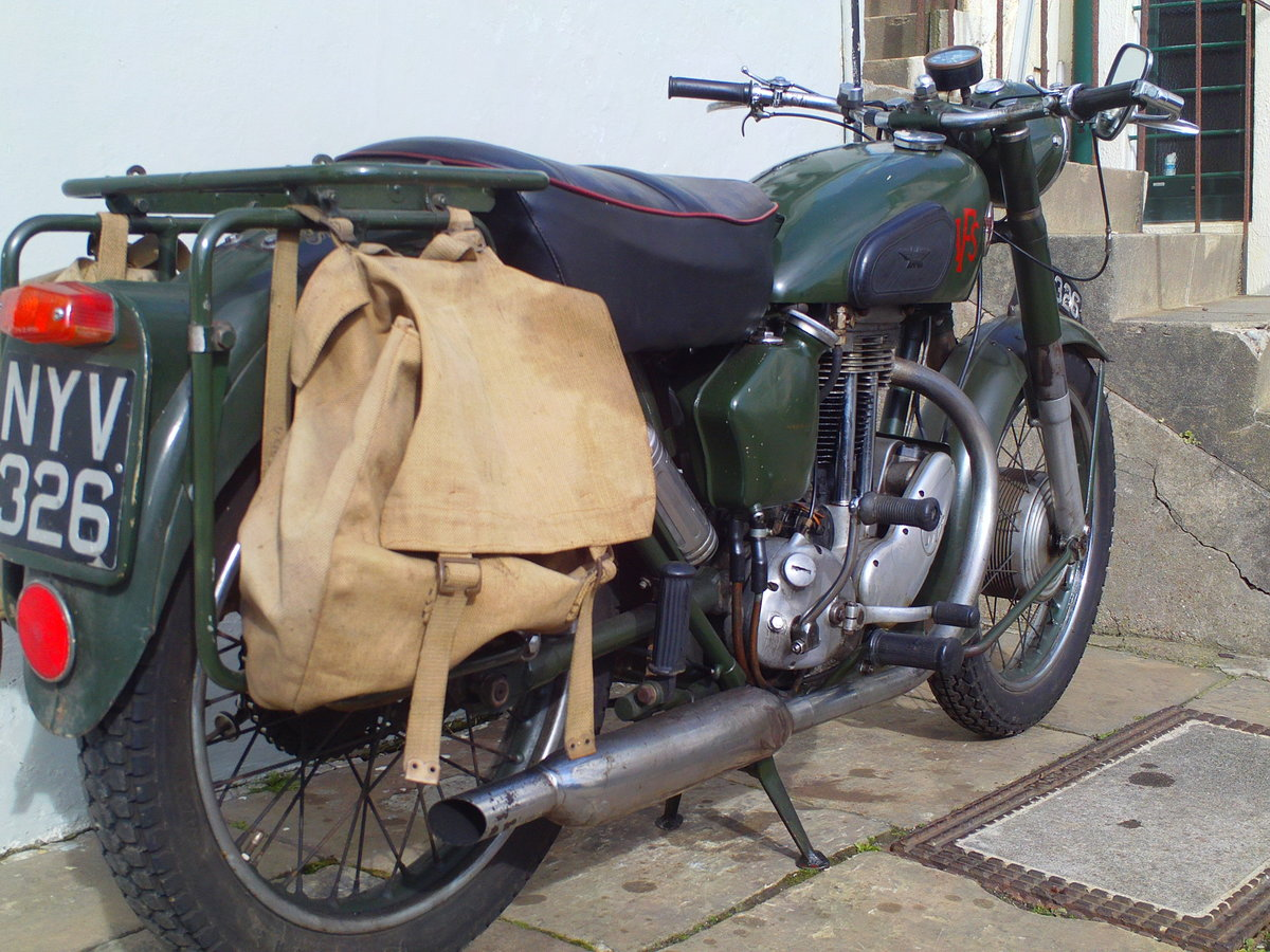 1955 MATCHLESS G3LS AFS  SOLD (picture 2 of 6)