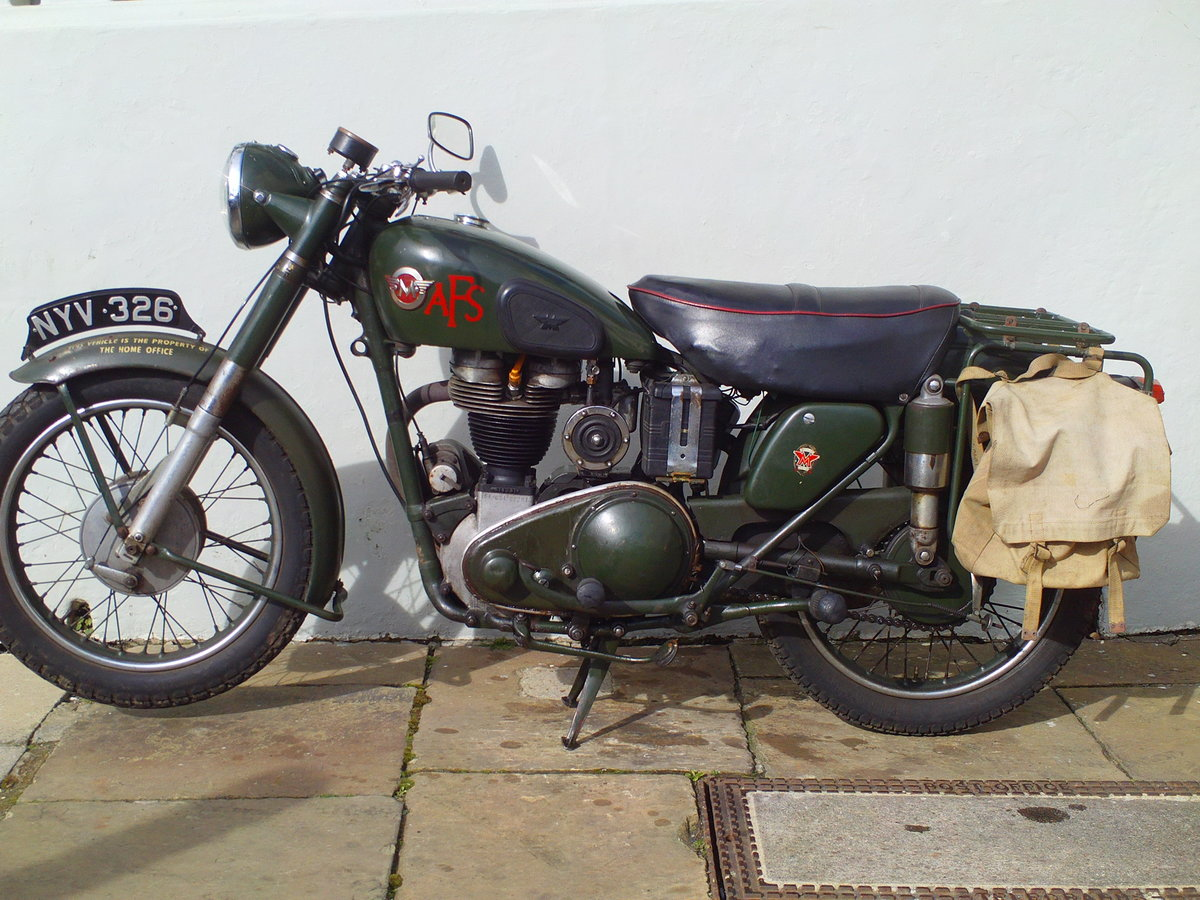 1955 MATCHLESS G3LS AFS  SOLD (picture 3 of 6)