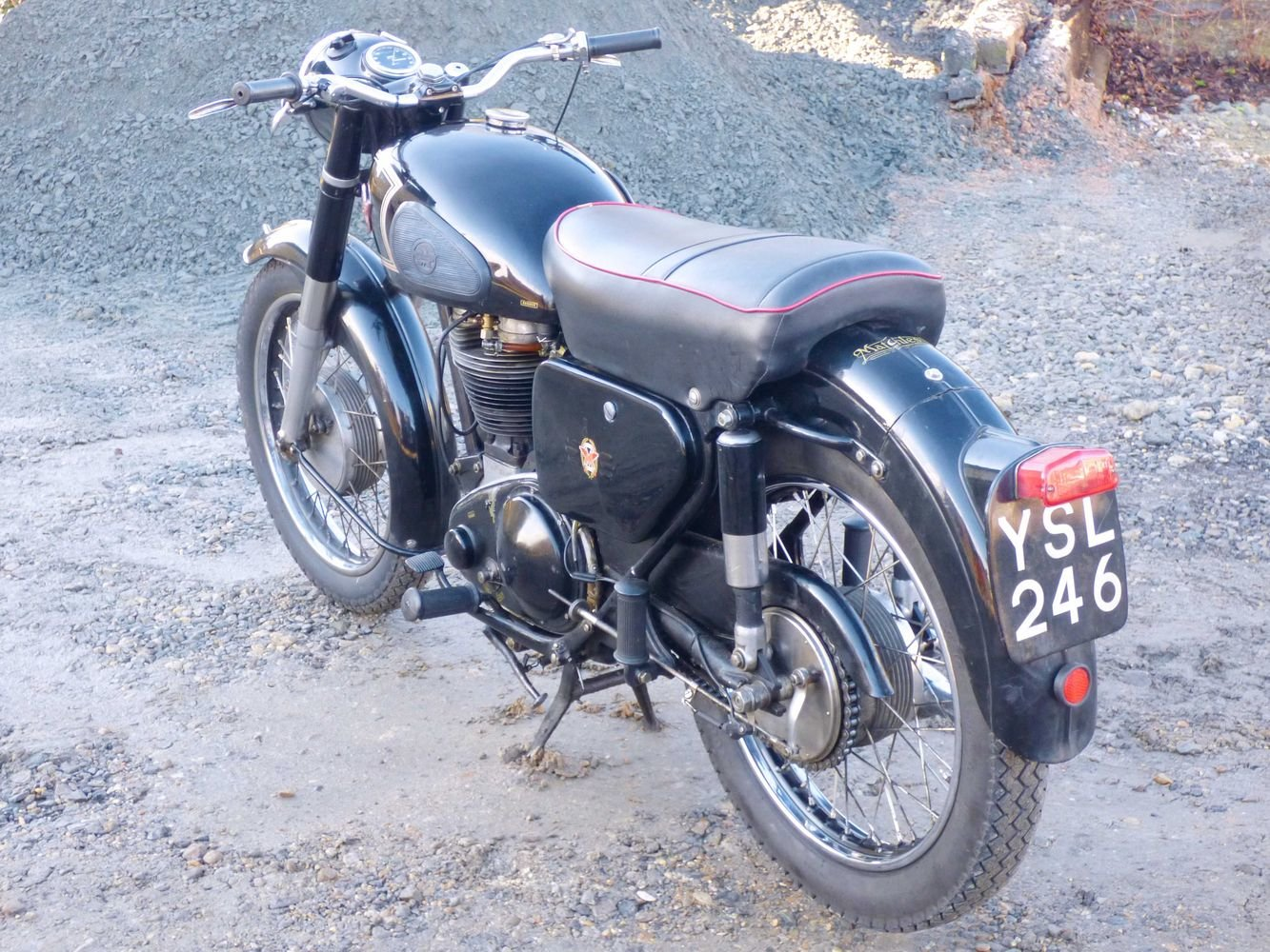 1957 Matchless G80S 500cc For Sale (picture 5 of 6)