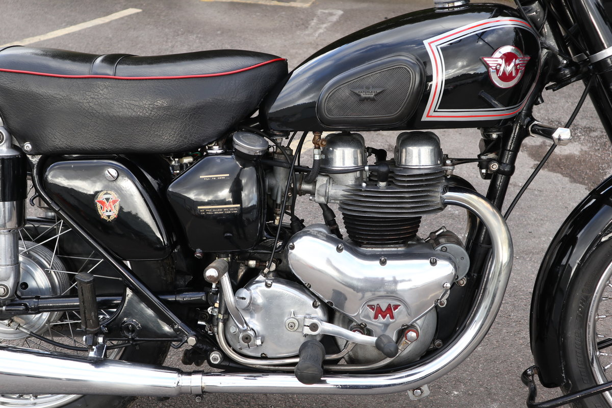 Matchless G9 500cc 1955 Pre Unit  SOLD (picture 3 of 6)