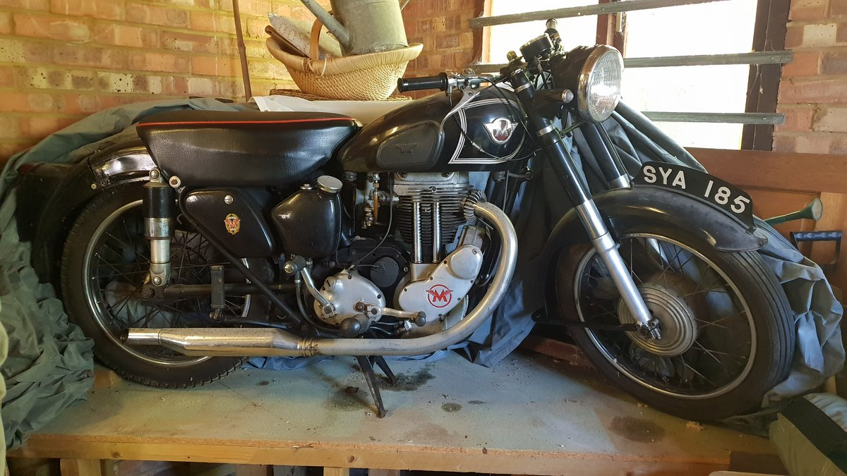 1954 Matchless G80S (barely used) SOLD (picture 1 of 6)