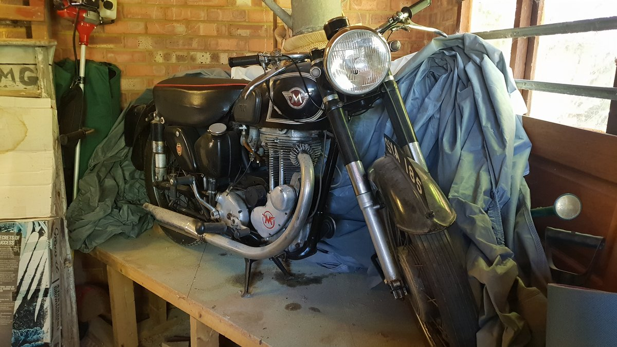 1954 Matchless G80S (barely used) SOLD (picture 2 of 6)