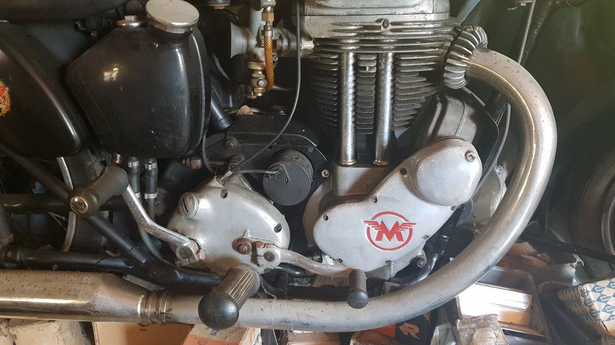 1954 Matchless G80S (barely used) SOLD (picture 3 of 6)