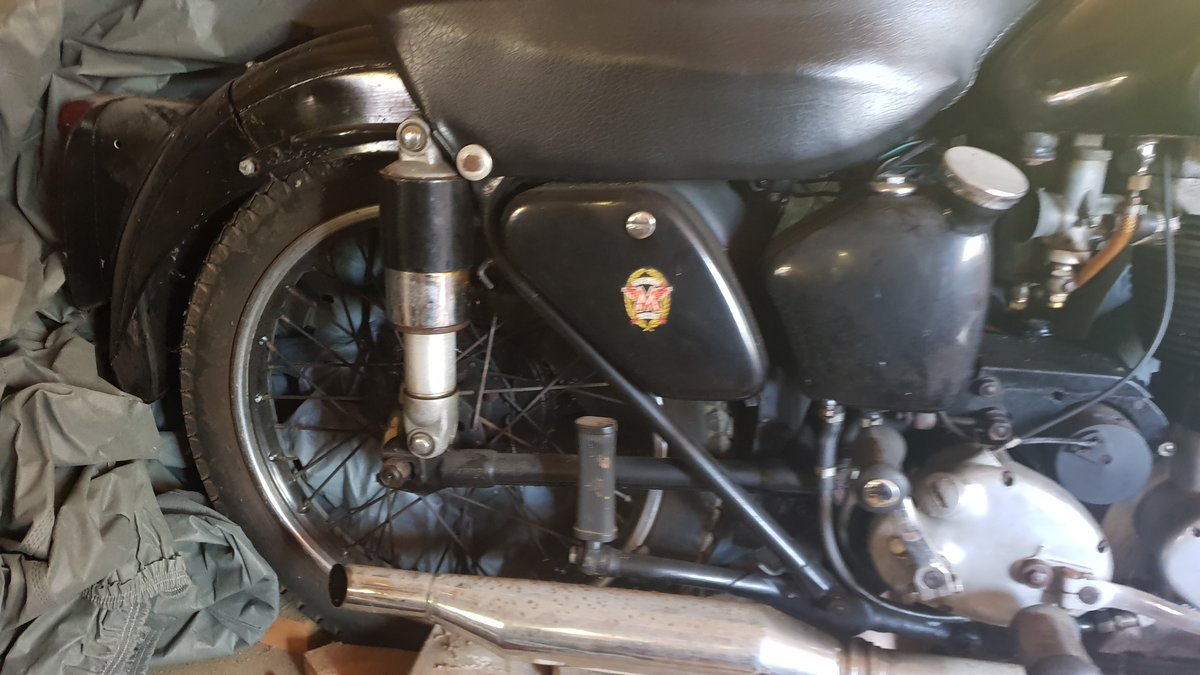 1954 Matchless G80S (barely used) SOLD (picture 4 of 6)
