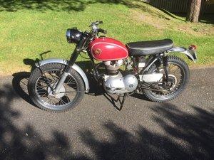 1960 Matchless 250 scrambler