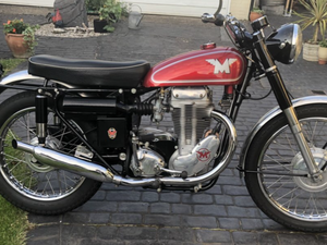 1960 Matchless G80 CS
