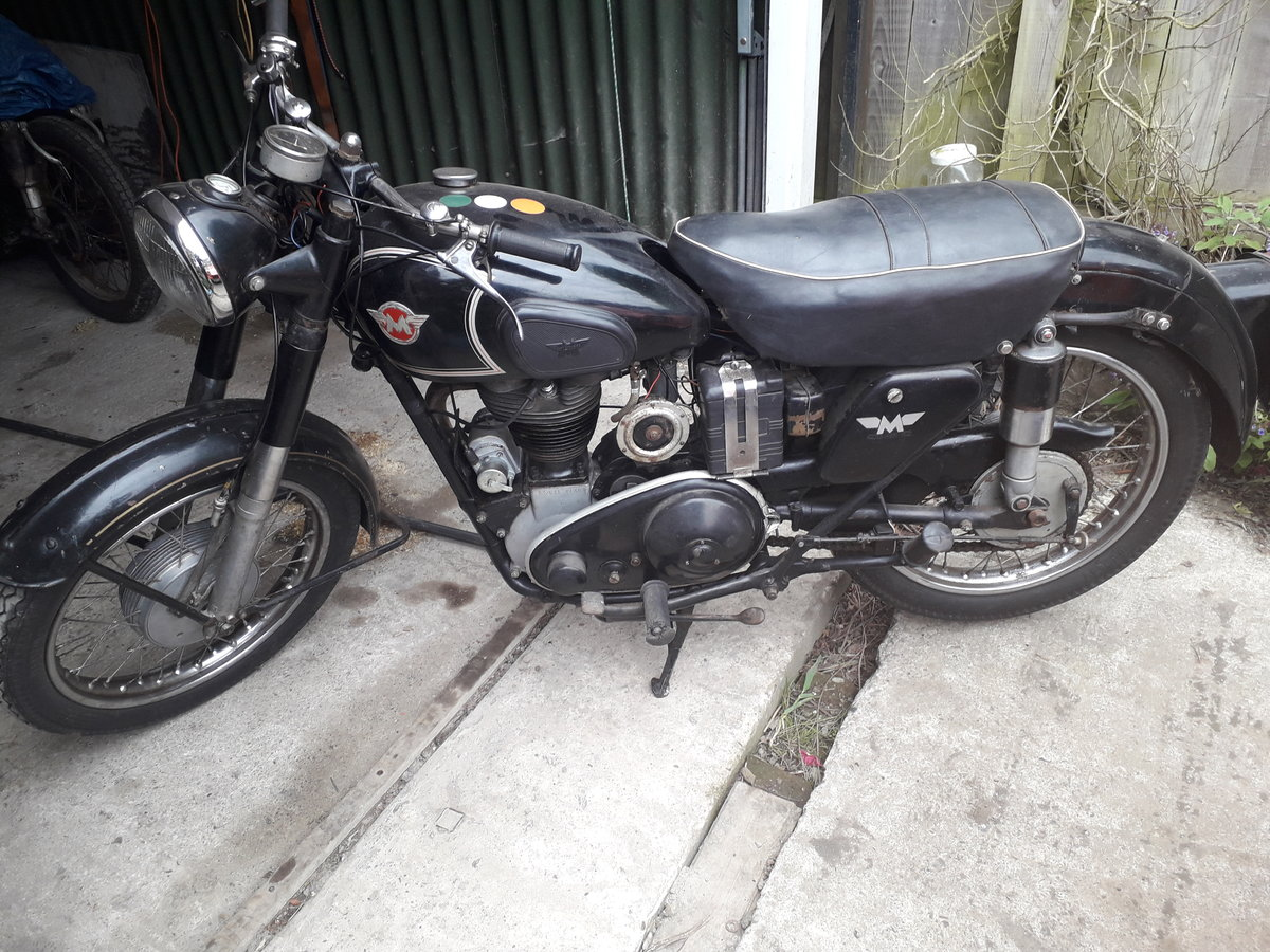 1953 Matchless 350cc original condition reg number SOLD (picture 1 of 6)