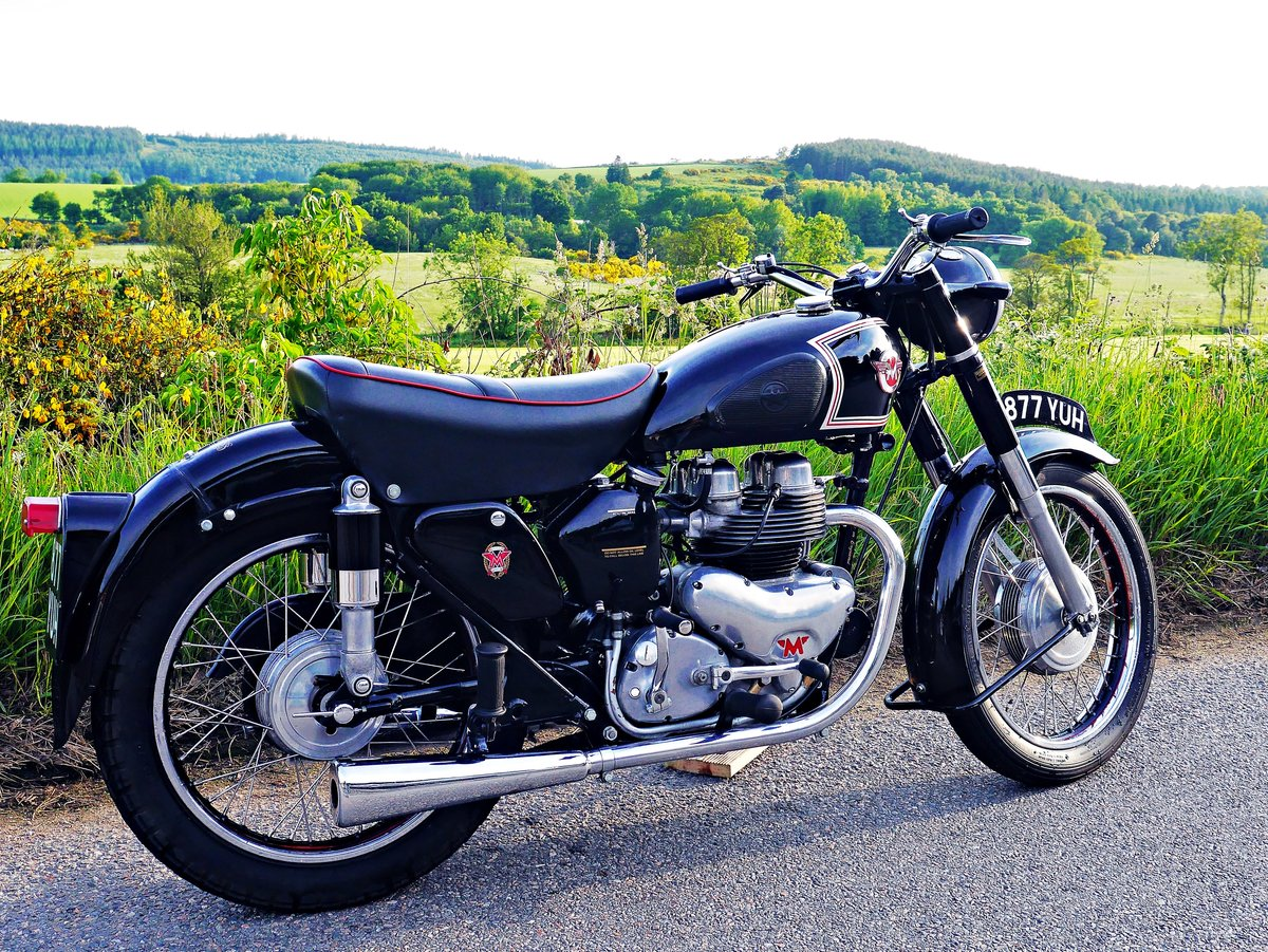 1955 Matchless G9 twin  For Sale (picture 1 of 6)