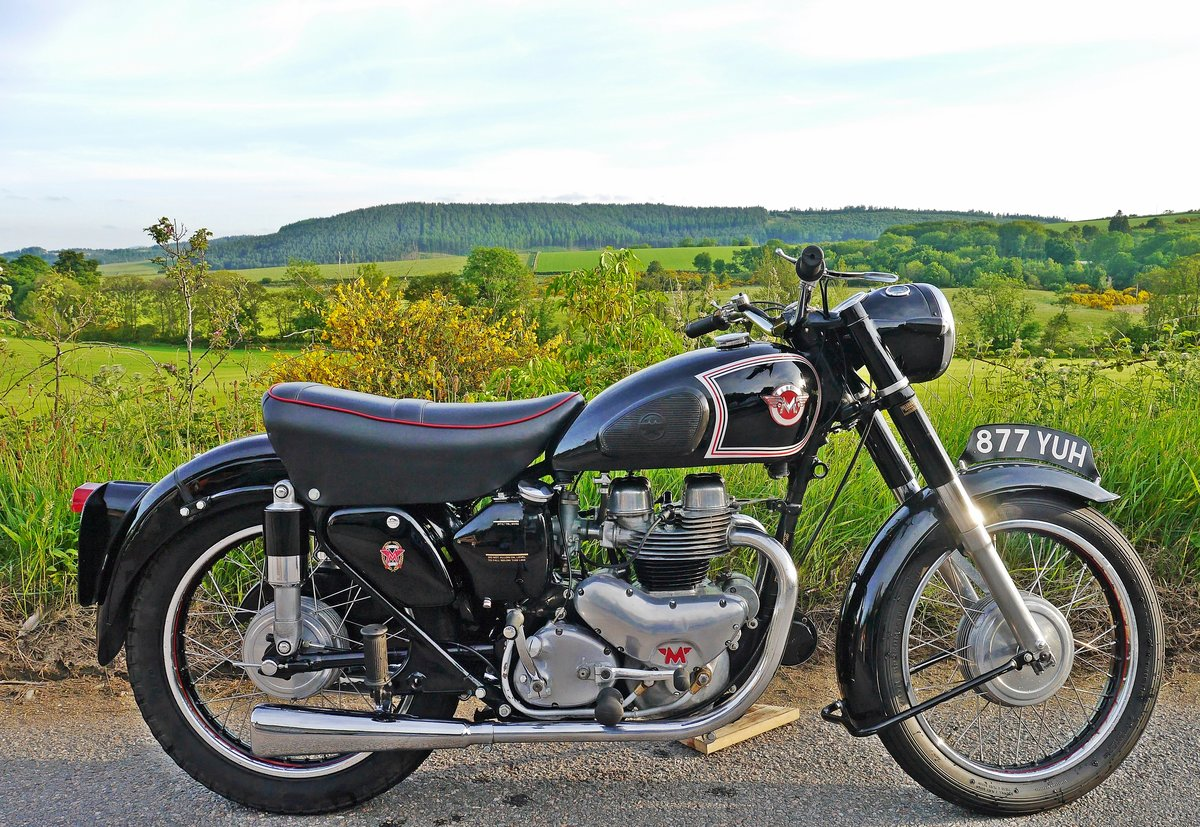 1955 Matchless G9 twin  For Sale (picture 5 of 6)