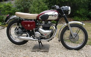1959 Matchless genuine g12 csr. 650cc sports  twin.