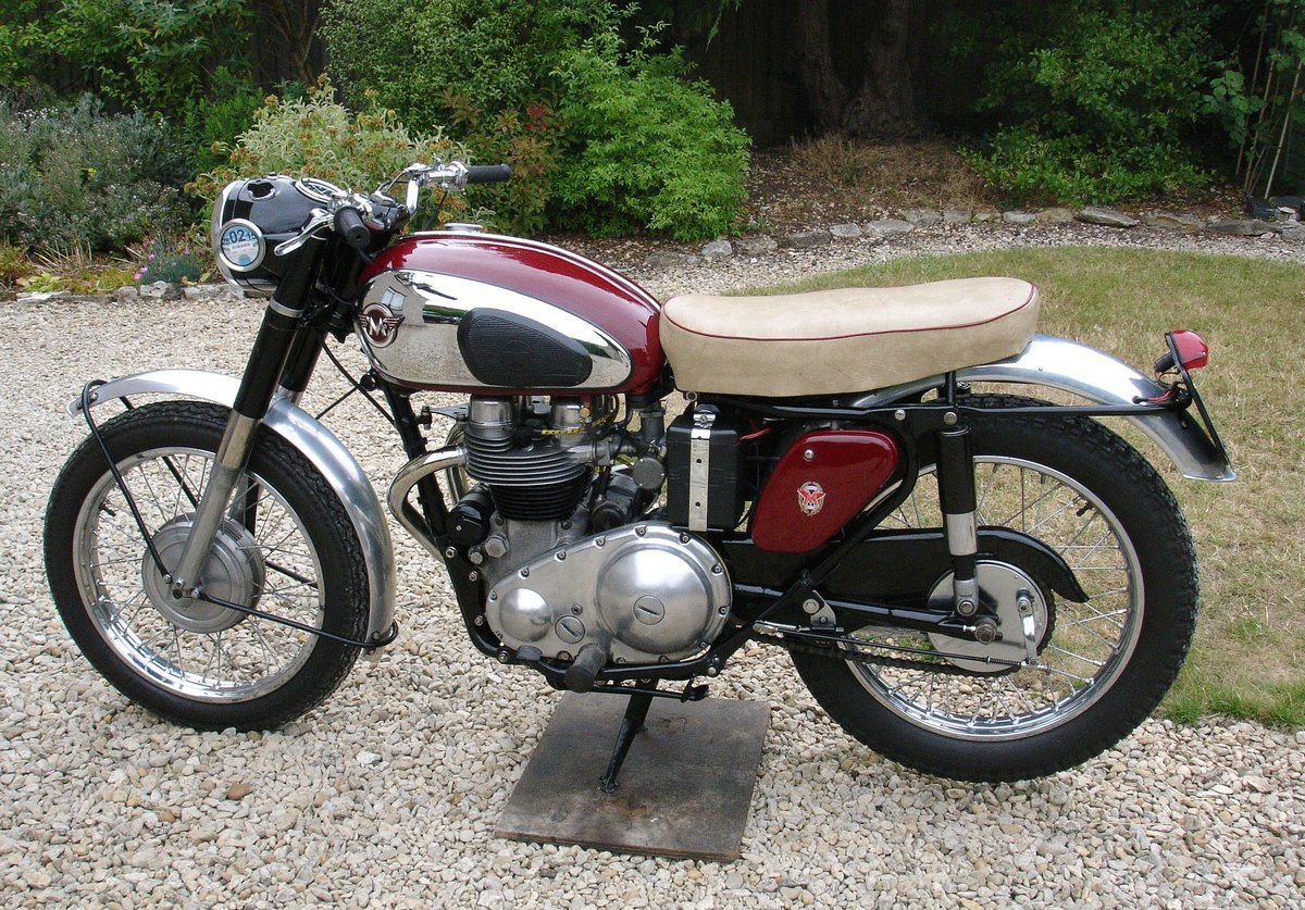 1959 Matchless genuine g12 csr. 650cc sports  twin. For Sale (picture 2 of 2)