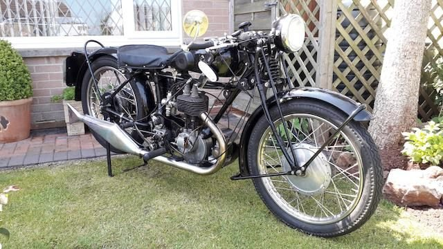 1929 Matchless T4 350cc special SOLD by Auction (picture 1 of 1)