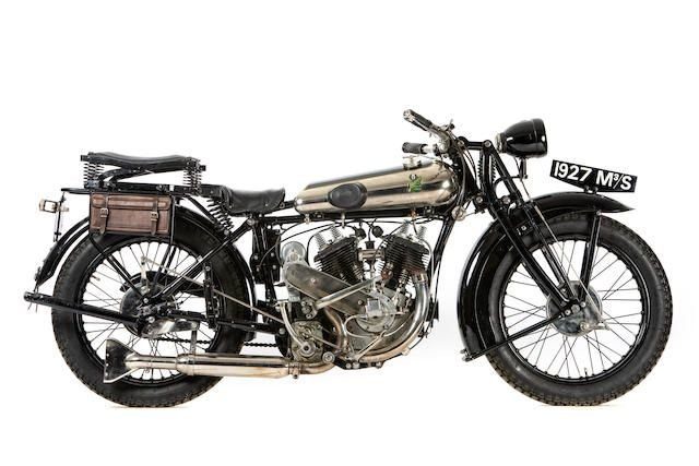 1927 MATCHLESS 982CC M3/S SPORTS SOLO (LOT 403) SOLD by Auction (picture 1 of 1)