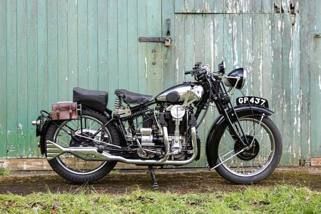1931 MATCHLESS 592CC SILVER HAWK (LOT 405) SOLD by Auction (picture 1 of 1)