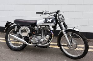 1961 Matchless G80 CSR 500cc Scrambler Special For Sale