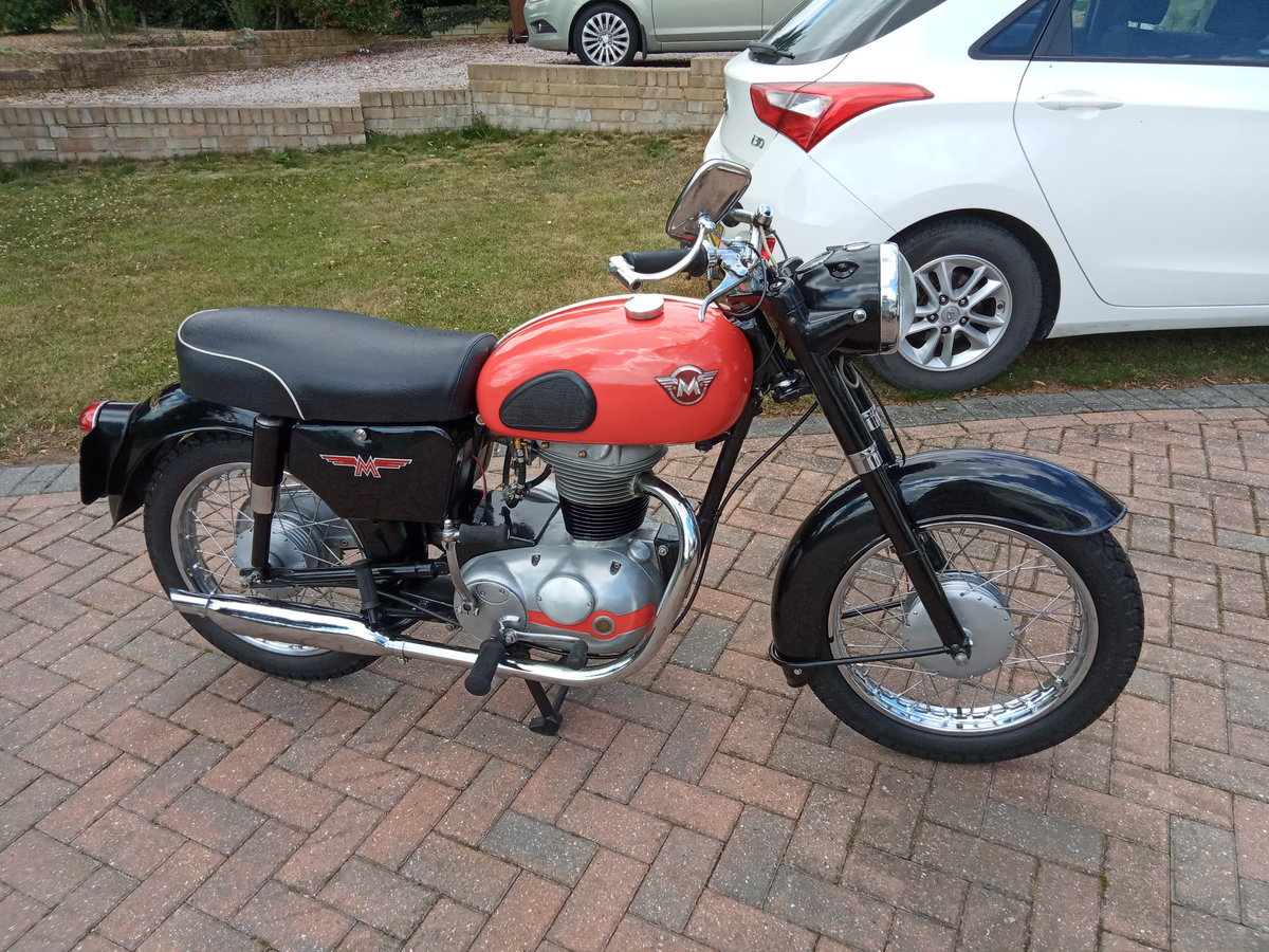 1961 Matchless G2 Classic Lightweight 250cc SOLD (picture 2 of 6)