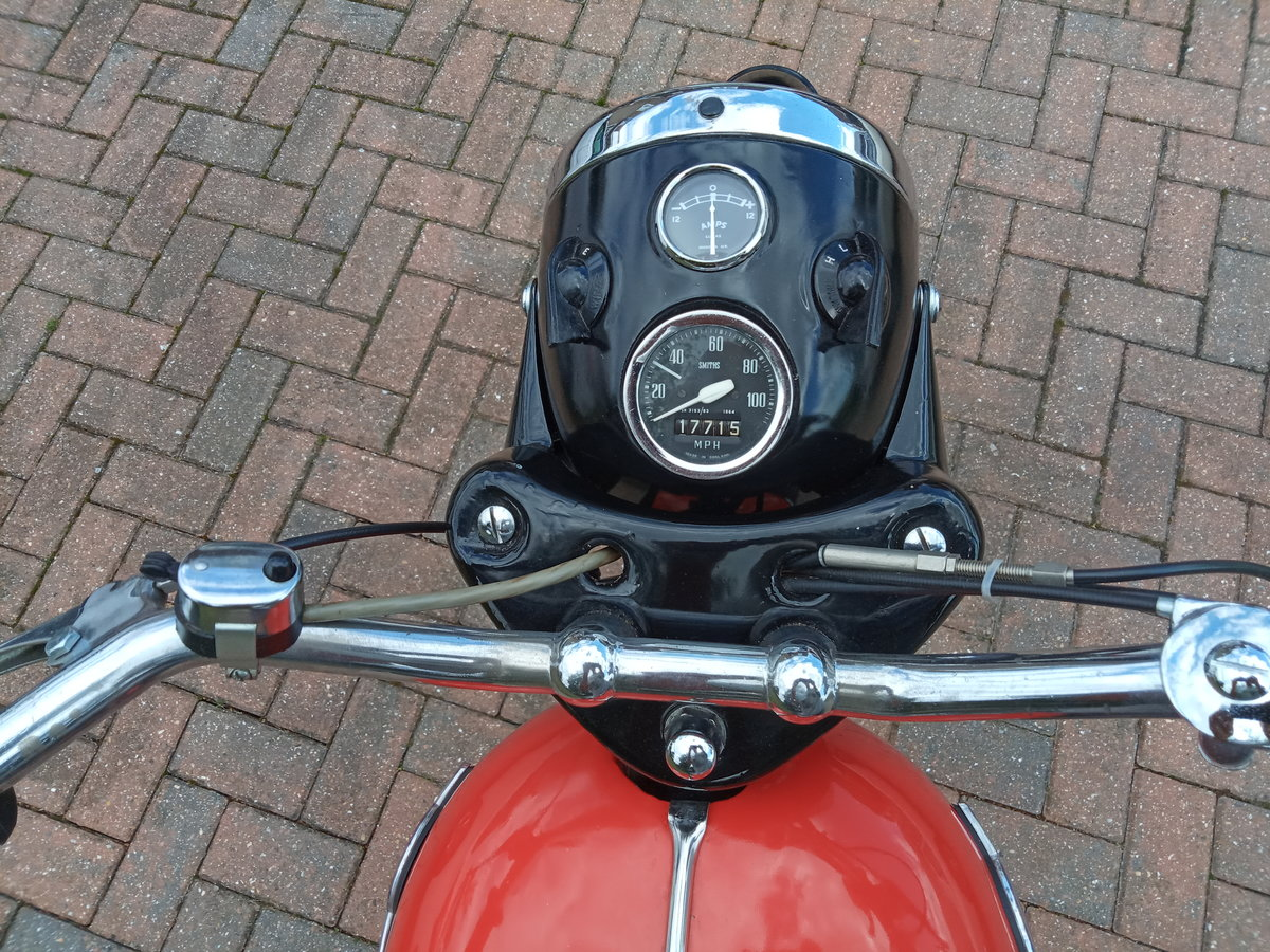 1961 Matchless G2 Classic Lightweight 250cc SOLD (picture 4 of 6)