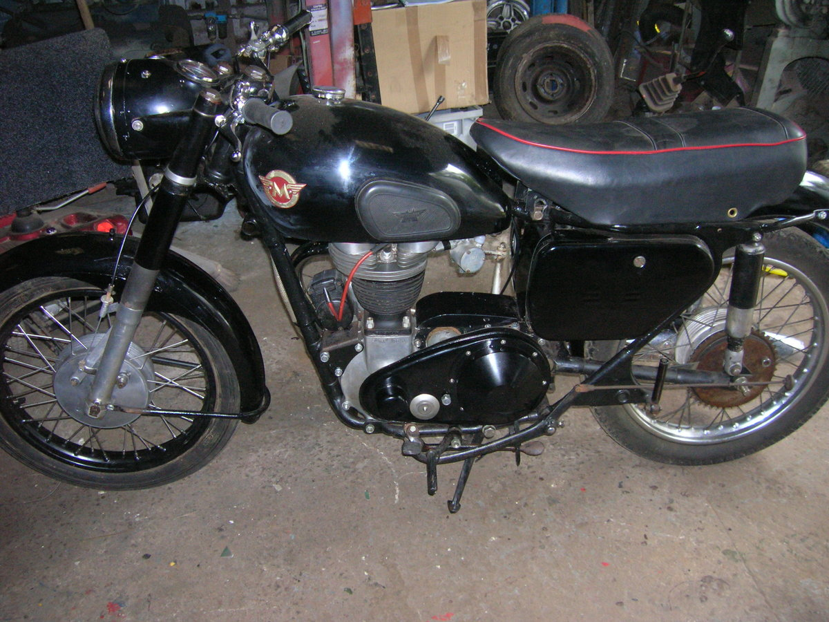 1957 350 matchless original transferable reg For Sale (picture 2 of 6)