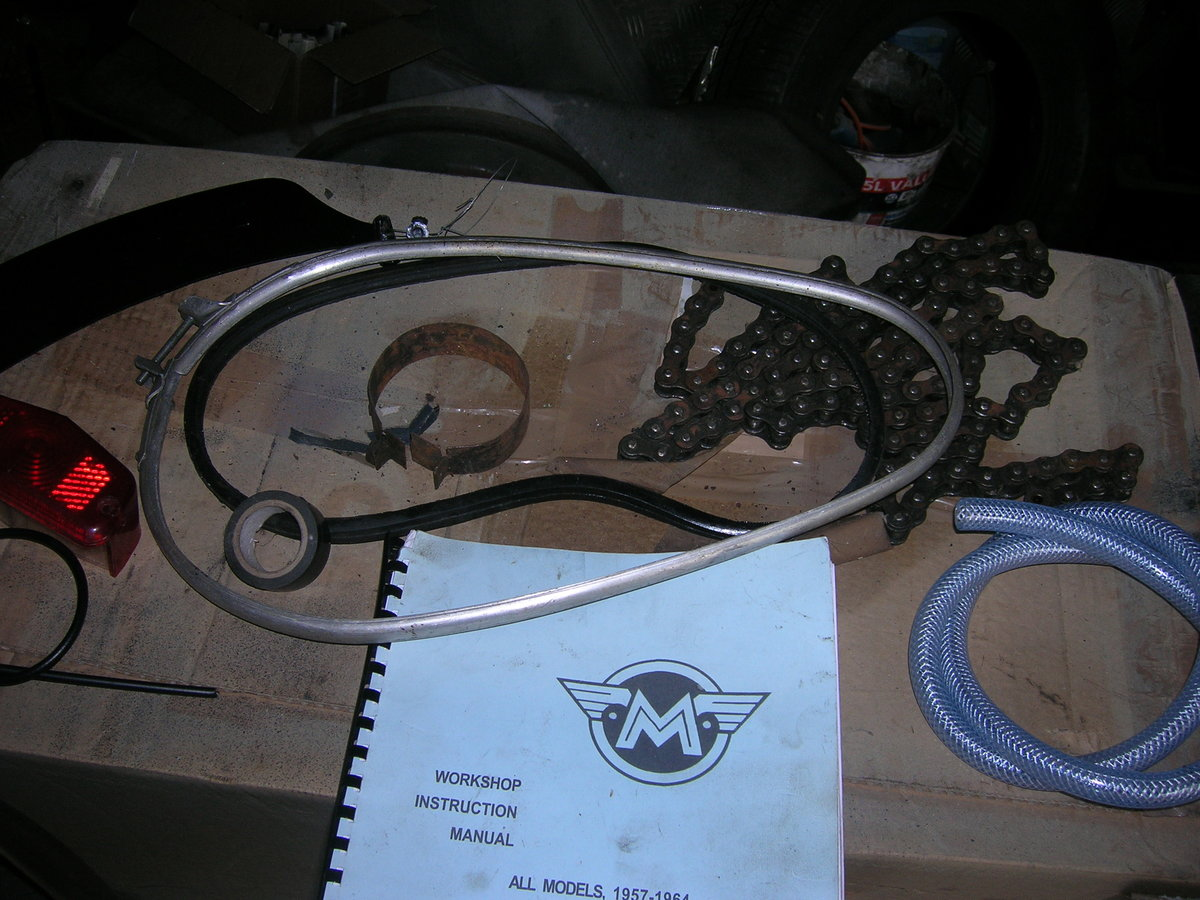 1957 350 matchless original transferable reg For Sale (picture 5 of 6)