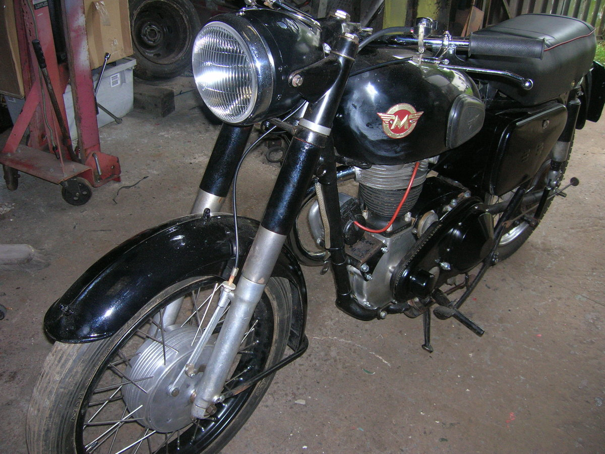 1957 350 matchless original transferable reg For Sale (picture 6 of 6)
