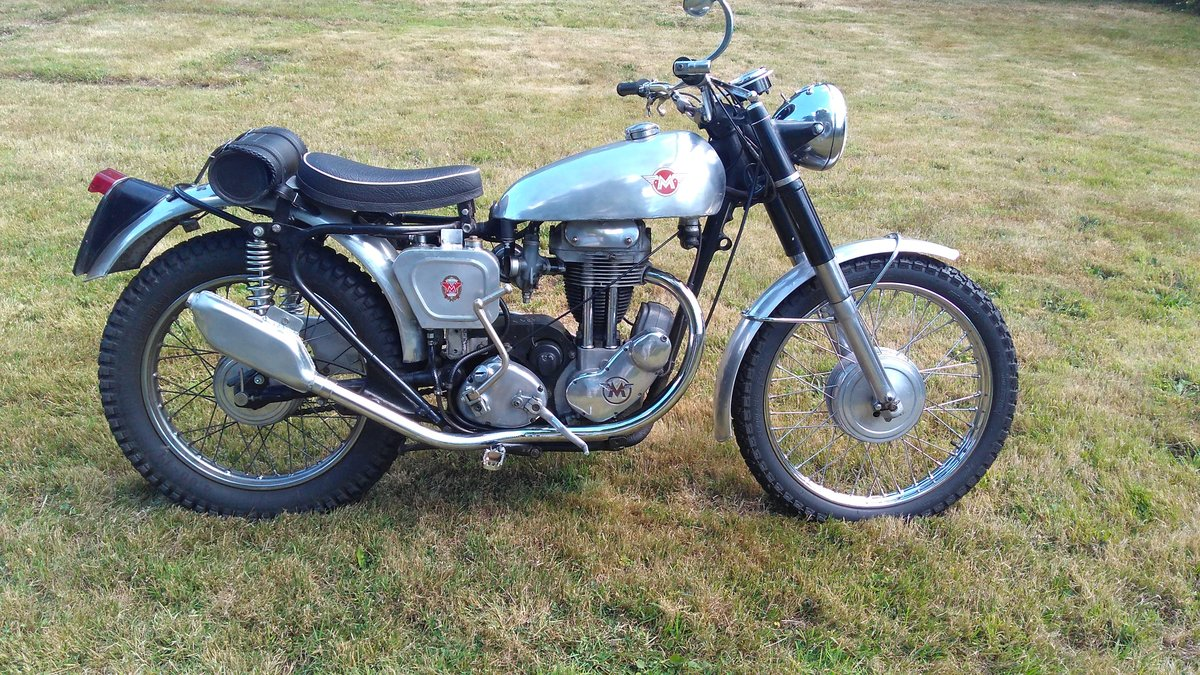 1956 Matchless G3L in trials trim For Sale (picture 1 of 4)