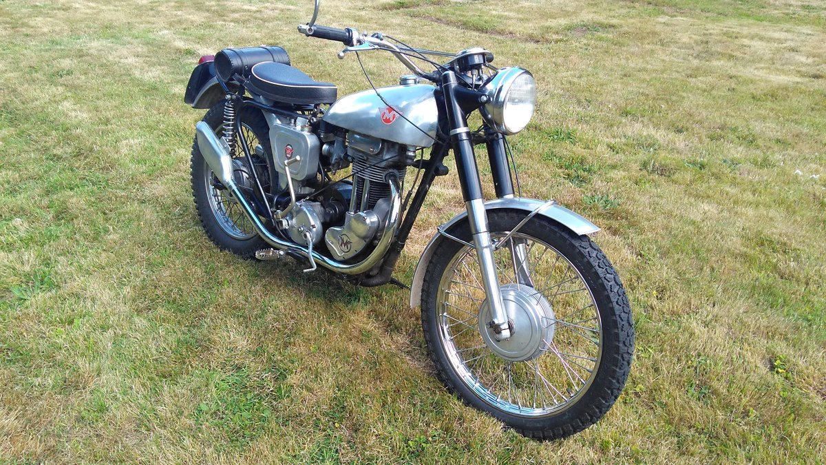 1956 Matchless G3L in trials trim For Sale (picture 2 of 4)