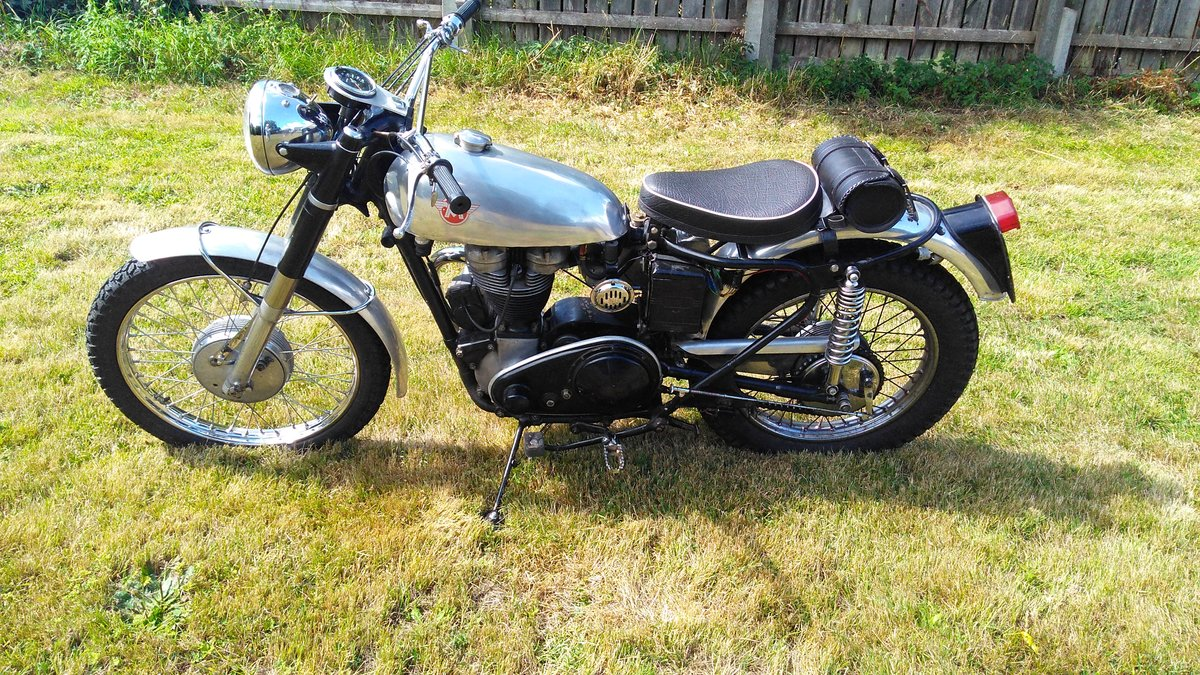 1956 Matchless G3L in trials trim For Sale (picture 3 of 4)