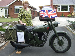 Matchless Genuine W W 2 Despatch Riders motorcycle