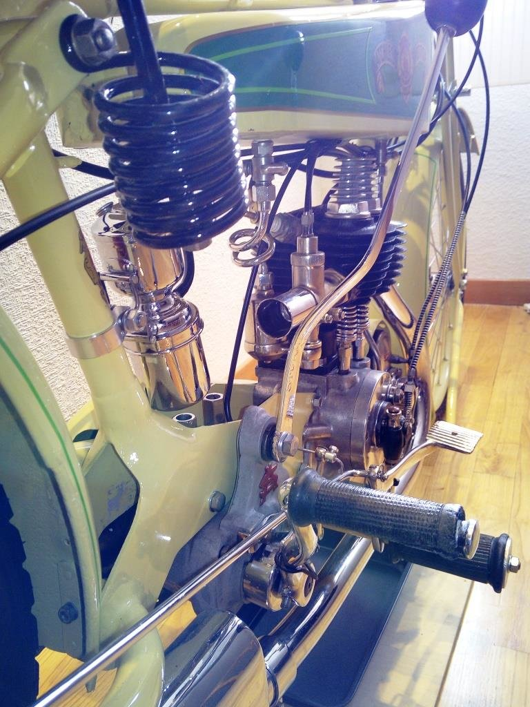 1926 MATCHLESS R250 concours status For Sale (picture 4 of 6)