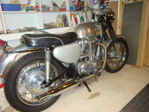 Matchless G80CS  600cc single