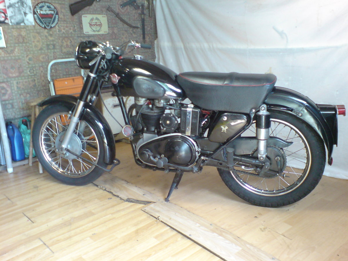 1955 Matchless 350cc Jampot For Sale (picture 1 of 5)