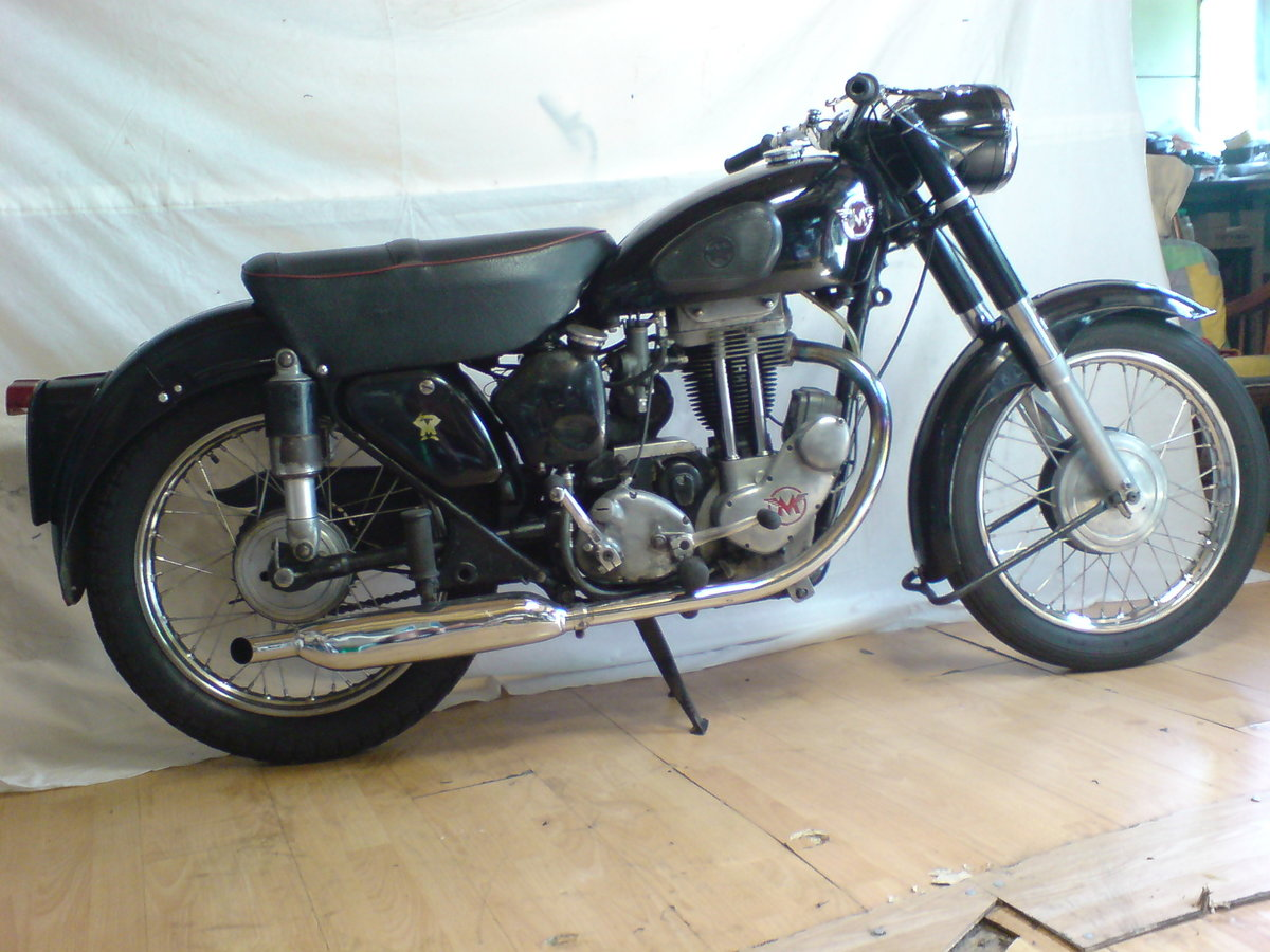 1955 Matchless 350cc Jampot For Sale (picture 2 of 5)