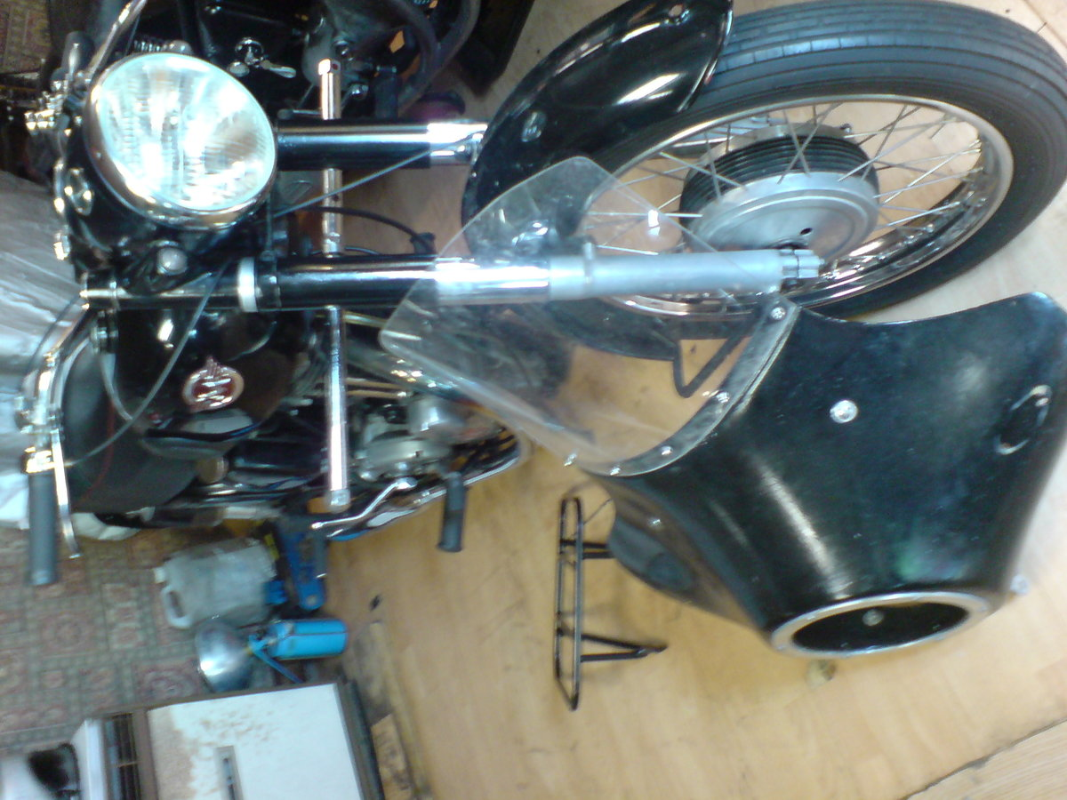 1955 Matchless 350cc Jampot For Sale (picture 4 of 5)