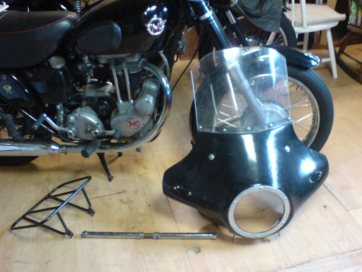1955 Matchless 350cc Jampot For Sale (picture 5 of 5)
