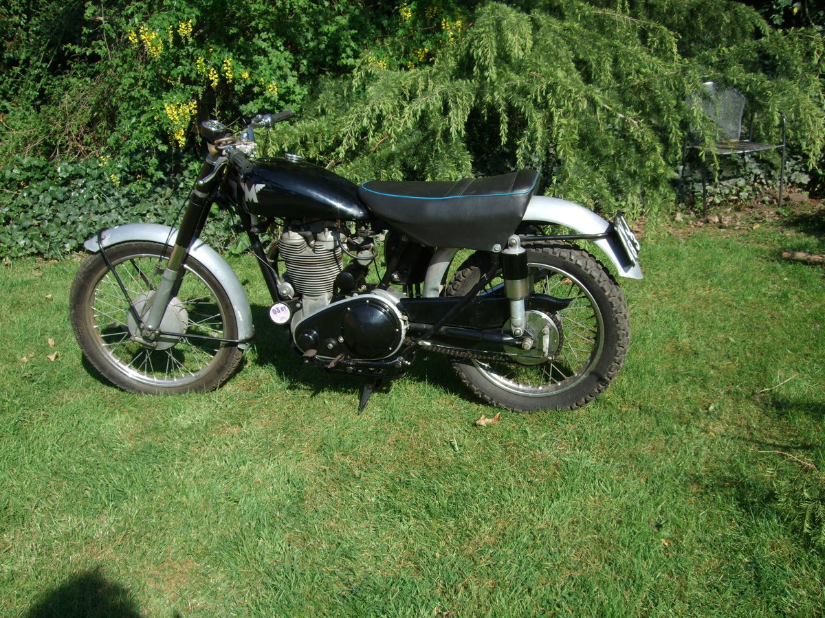 1954 Matchless 500cs competition For Sale (picture 1 of 6)