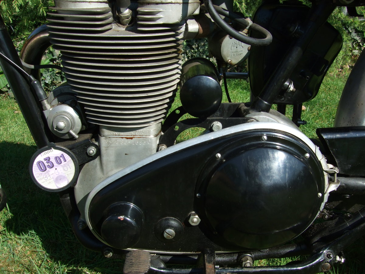 1954 Matchless 500cs competition For Sale (picture 4 of 6)