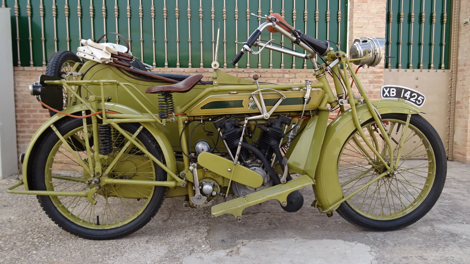 Picture of 1921 MATCHLESS MODEL H COMBINATION MAG ENGINE 1000 For Sale