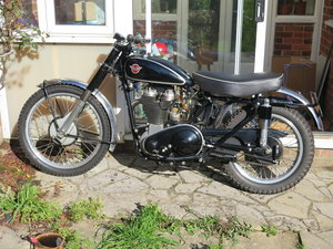 Picture of Lot 160 - A 1951 Matchless G80 CS - 28/10/2020 SOLD by Auction