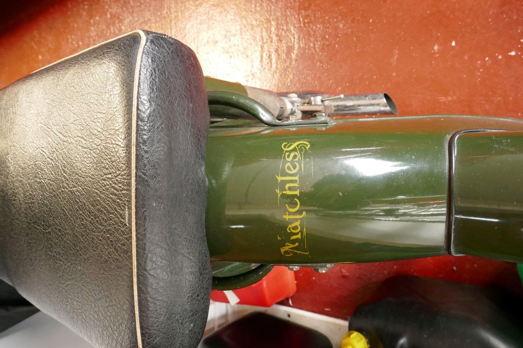 Matchless AFS green goddess ORIGINAL G3/L 350cc 1960 For Sale (picture 6 of 6)