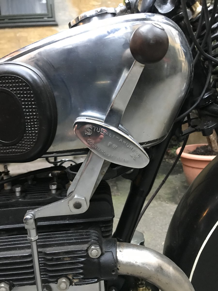 1929 /1930 Matchless Silver arrow SOLD (picture 5 of 6)