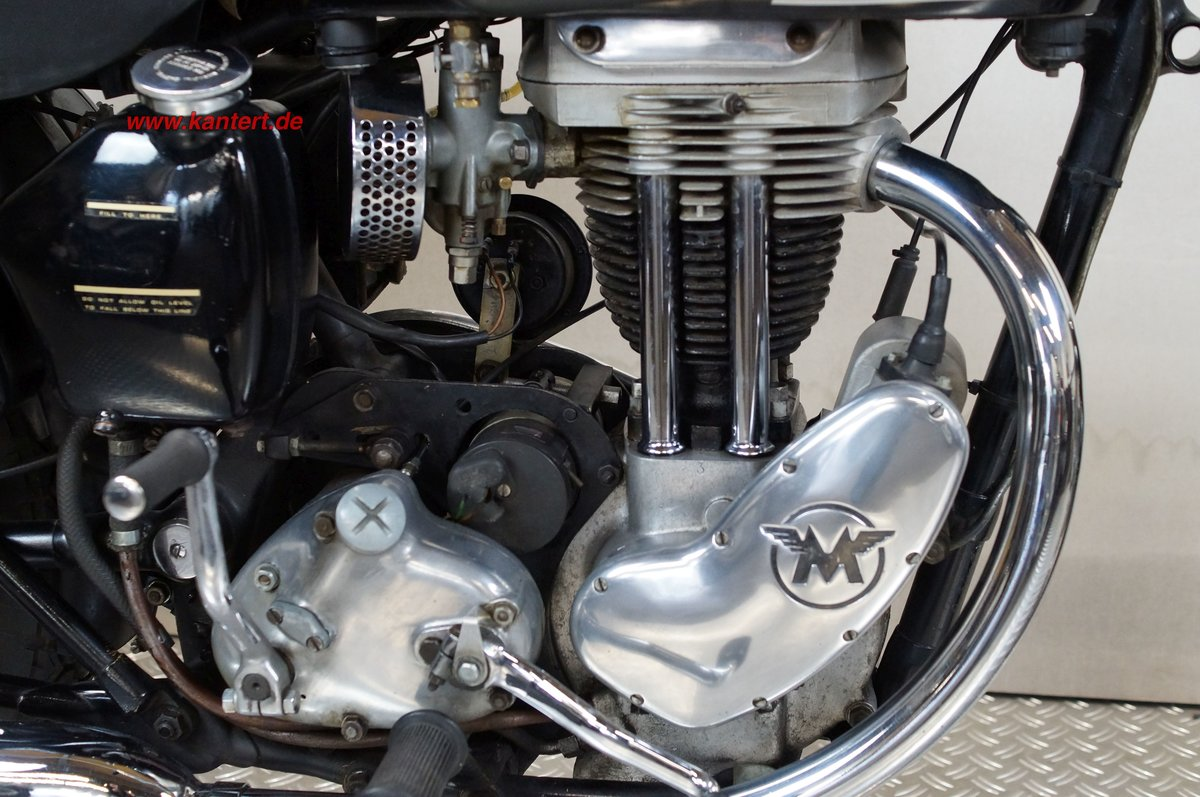 1952 Matchless 350 Typ 3GL, 16 hp, 348 cc For Sale (picture 12 of 12)