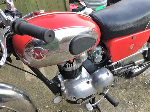 1960 Matchess  G5 350cc motorcycle. For Sale (picture 3 of 6)