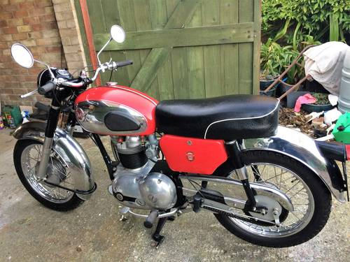 1960 Matchess  G5 350cc motorcycle. For Sale (picture 5 of 6)