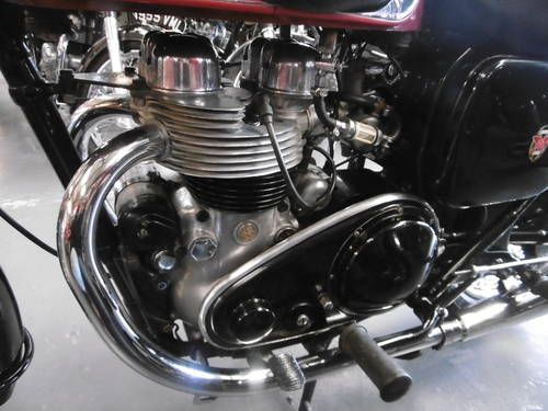1957 Matchless G11 Superclubman  Restored  SOLD (picture 6 of 6)