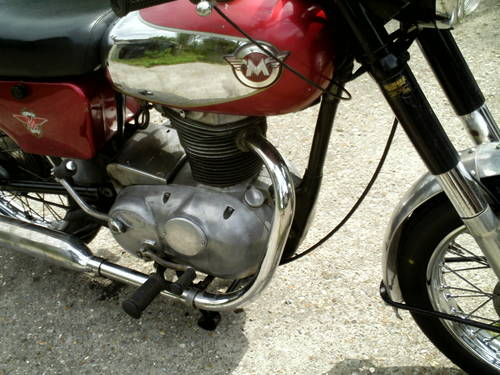 1966 MATCHLESS G2 CSR 250CC SOLD (picture 2 of 6)