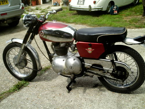 1966 MATCHLESS G2 CSR 250CC SOLD (picture 3 of 6)