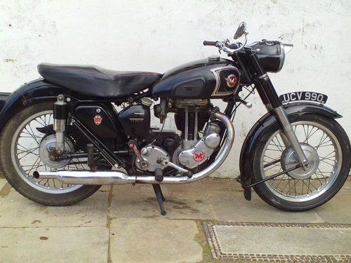 1955 MATCHLESS G80S SOLD (picture 1 of 6)