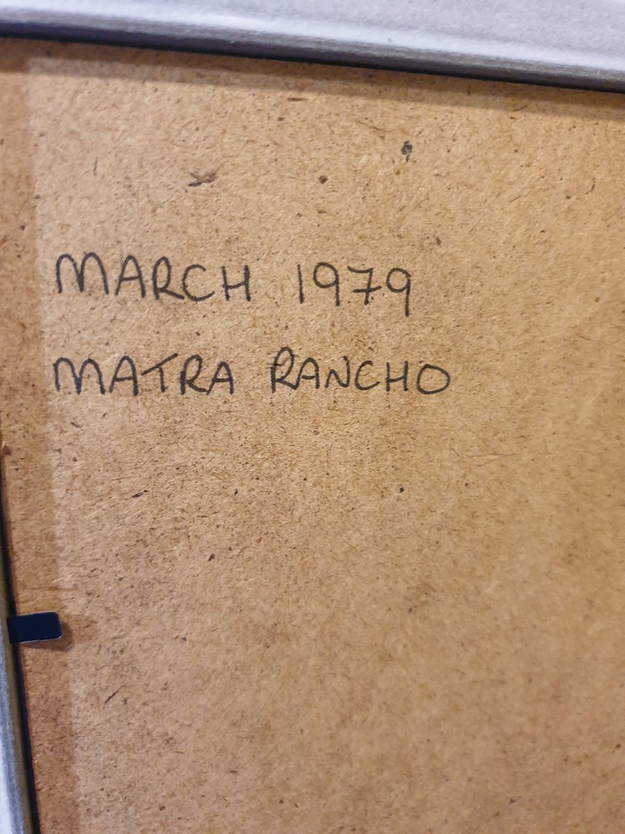 1979 Original Matra Rancho Advert For Sale (picture 2 of 2)