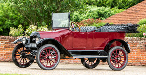 1917 MAXWELL 25 3-LITRE TOURER For Sale by Auction