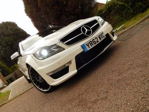 C63 AMG COUPE -- genuine low mileage example